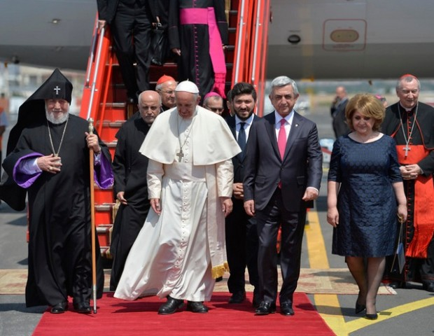 Chronicle of events: Pope visits Armenia